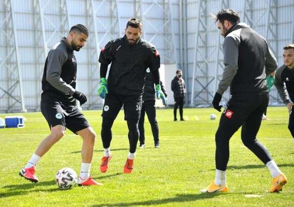 Konyaspor, M Başakşehir maçı hazırlıklarını tamamladı