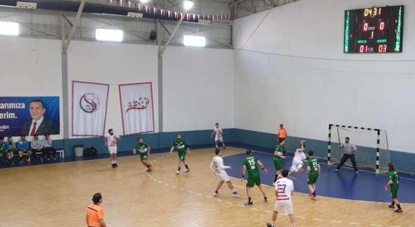 Mamak Belediyesi Hentbol Takımı, Mersinden galip döndü