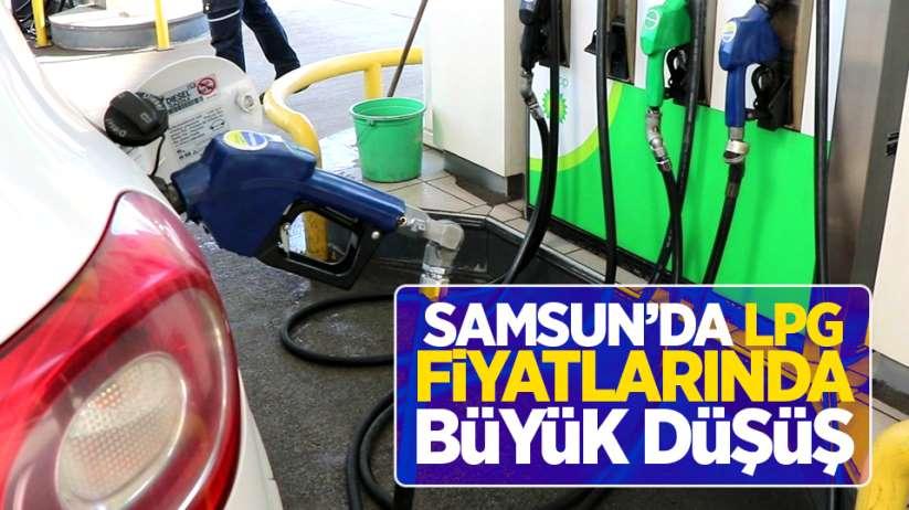 Samsun'da LPG fiyatlarında büyük düşüş