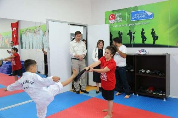 Gaziantep'te spor salonlarının beşi tamamlandı