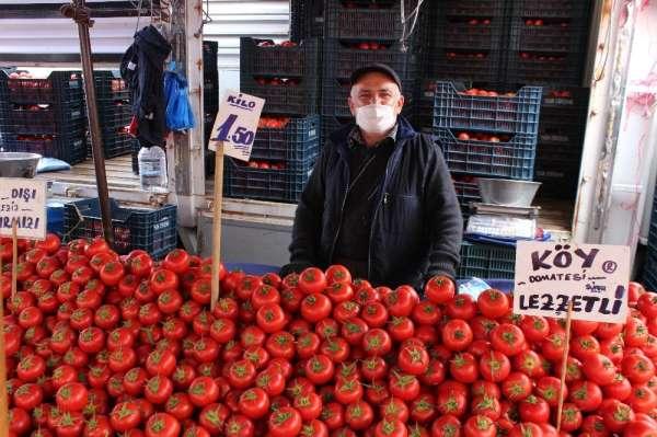 Eskişehir'de domatesin kilosu 1.50 lira