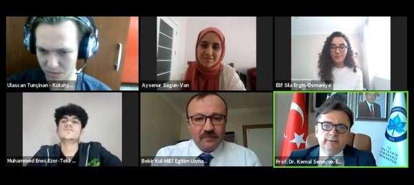 ESOGÜ Rektörü Prof. Dr. Kemal Şenocak üniversite adayları ile buluştu