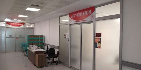 Sinop'ta yoğun bakım kapasitesi artırıldı