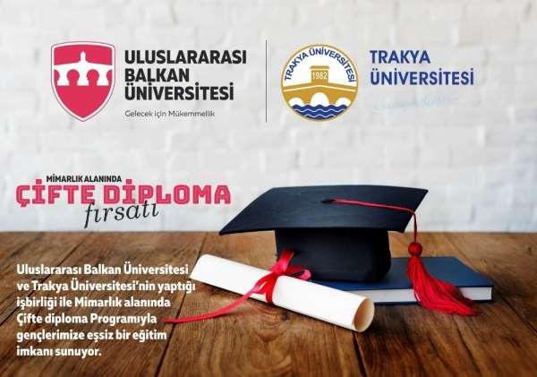 Trakya Üniversitesi ve Uluslararası Balkan Üniversitesi'nin 2+2 ortak lisans pro
