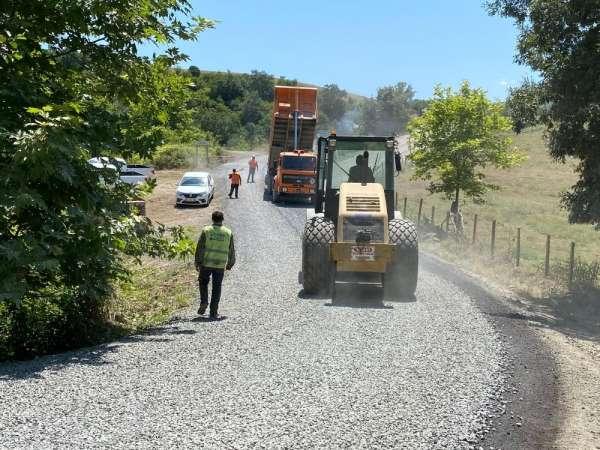 Son iki haftada 122 kilometre yol yapıldı