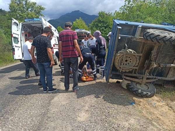 Kastamonu'da patpat kazası: 2 yaralı