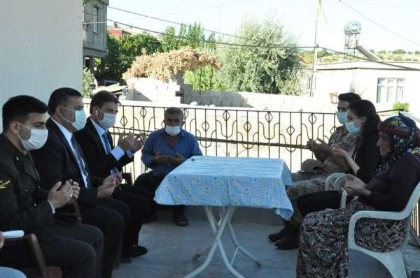 Kaymakam İmamoğlu'ndan şehit ve gazi ailelerine ziyaret