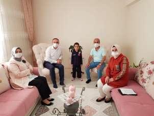 Vali Soytürk'ten şehit ailelerini anlamlı ziyaret
