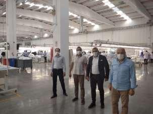 Sadıkoğlu: 'Fabrikalarda tedbirler alınarak üretim devam ediyor'