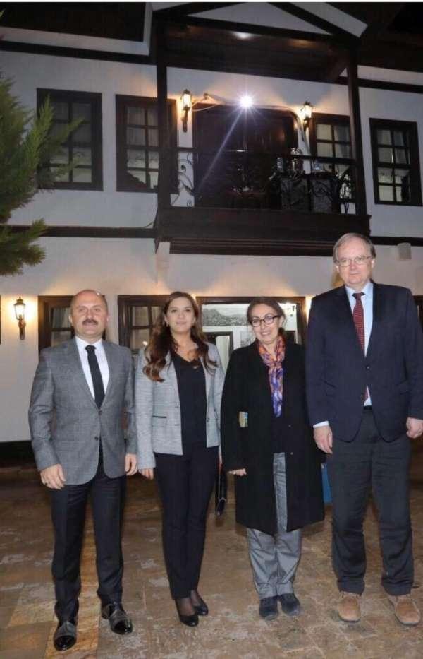AB Türkiye Delegasyonu Başkanı Büyükelçi Christian Berger Amasya'da