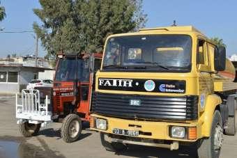 Atıl haldeki traktör ve arazöz onarılarak hizmete kazandırıldı