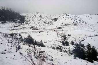 Kar Giresun'un iç kesimlerinde etkili oluyor