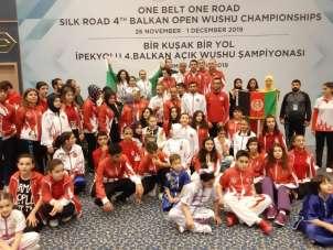 Malatya'dan 7 sporcu Balkan Şampiyonasında 1'nci oldu