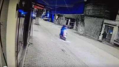 Otomobilin altında 700 metre sürüklenen genç kadının kaza öncesi görüntüleri ort
