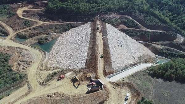 Olukman Tekke Barajı Bursa tarımına can suyu olacak