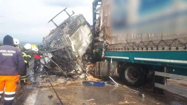 Osmaniye'de feci kaza: 1 ölü