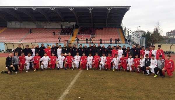U14 Milli Takım seçme maçlarının Kayseri etabı tamamlandı
