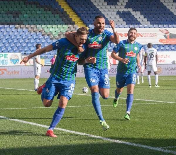 Süper Lig: Çaykur Rizespor: 1 - Gençlerbirliği: 0 (İlk yarı)