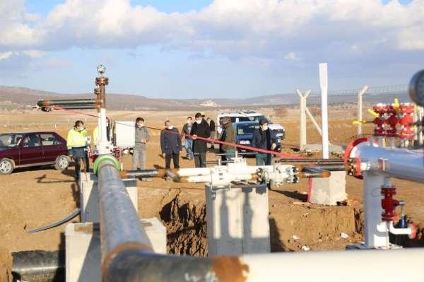 Zafer OSBde doğalgaz hattı çalışmalarında sona gelindi