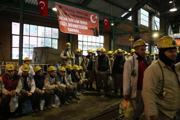 28 yıl önceki faciada şehit düşen 263 madenci dualarla anıldı