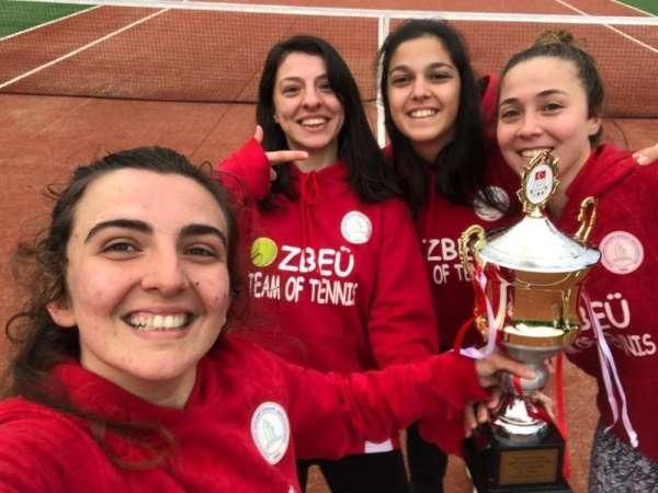 BEÜ, Üniversitelerarası Kadın 2. Lig Tenis Turnuvası'nda şampiyon oldu