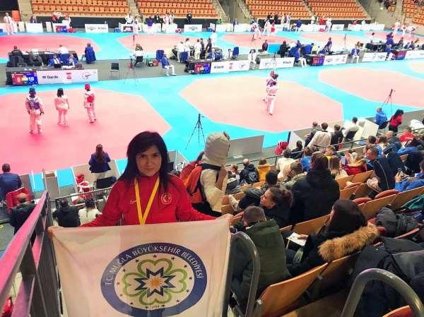 Büyükşehir antrenörü Naz Göktaş Muğla'nın milli gururu