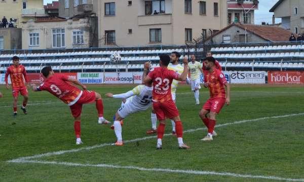3 Lig: Fatsa Belediyespor: 1 - Edirne Belediyespor: 0