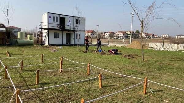 Minik öğrenciler deprem bilincini özel parkurda kazanıyor