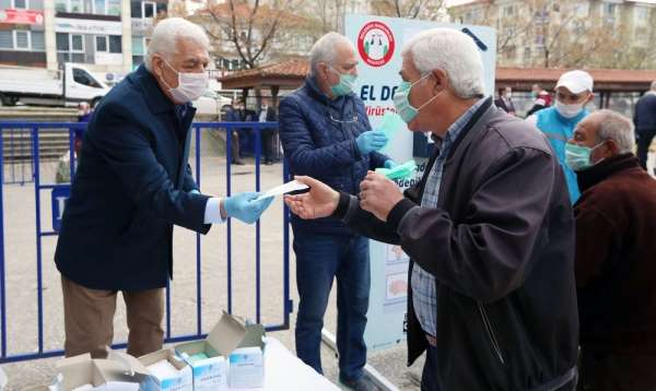 Pandemi döneminde vatandaşa 12 milyon TL'lik destek