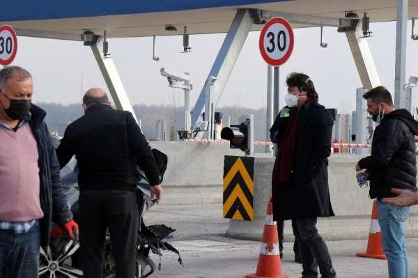 Peymanın CEOsu Kaan Baral lüks otomobili ile Kuzey Marmara Otoyolunda kazaya karıştı