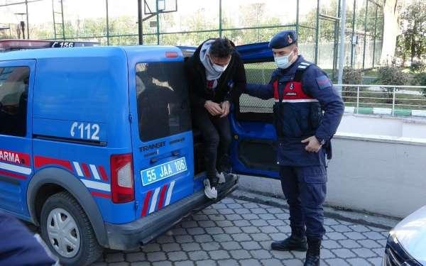 Samsunda jandarmadan DEAŞ operasyonu: 2 gözaltı
