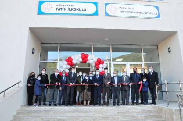Şehit Ferhan Gökbel Ortaokulu eğitim öğretime kapılarını açtı