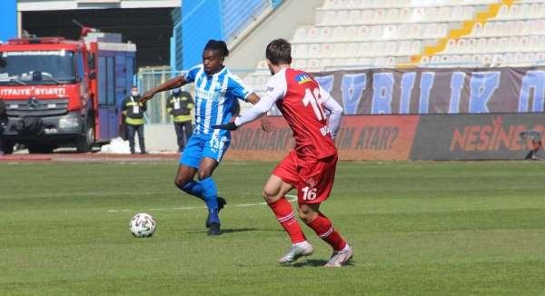 Süper Lig: BB Erzurumspor: 1 - Fatih Karagümrük: 1 (İlk yarı)