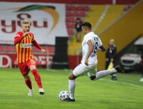 Süper Lig: Kayserispor: 0 - Çaykur Rizespor: 0 İlk yarı