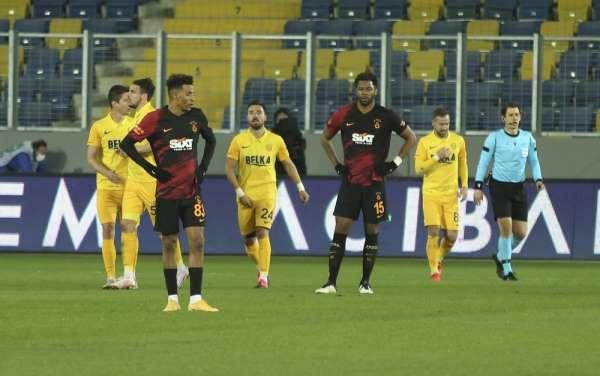 Süper Lig: MKE Ankaragücü: 2 - Galatasaray: 1 Maç sonucu