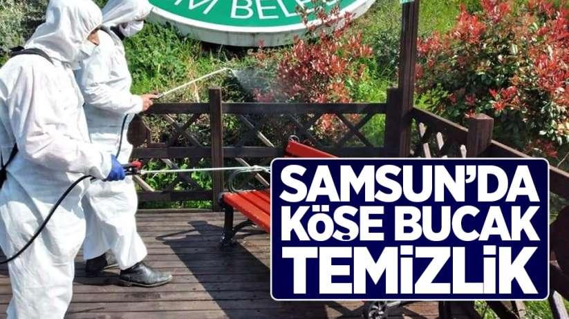 Samsun'da köşe bucak temizlik