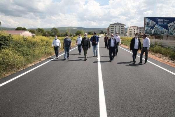 Nilüfer'de asfalt çalışmaları hız kazandı