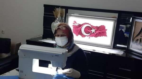 81 bin adet maske dikildi