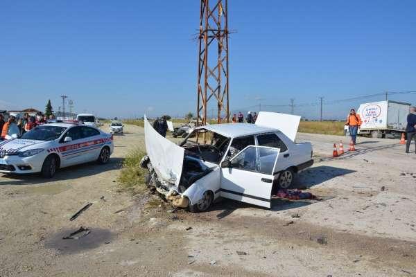 Antalya'da trafik kazası: 6 yaralı
