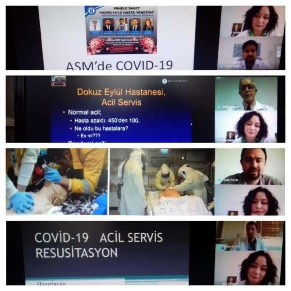 Bartın Üniversitesi'nde 'Covid-19'lu Hasta Yönetimi Paneli' gerçekleştirildi
