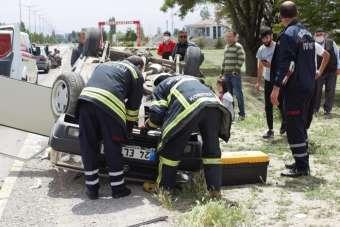 Erzincan'da trafik kazası: 5 yaralı