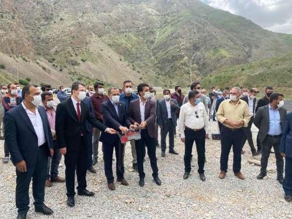 Milletvekili Arvas, Çatak Sanayi Sitesinin temel atma törenine katıldı