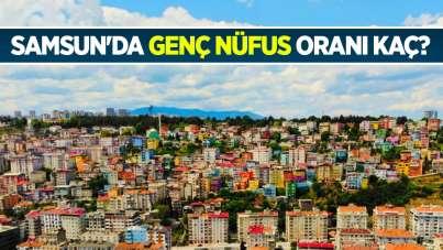 Samsun'da genç nüfus oranı kaç