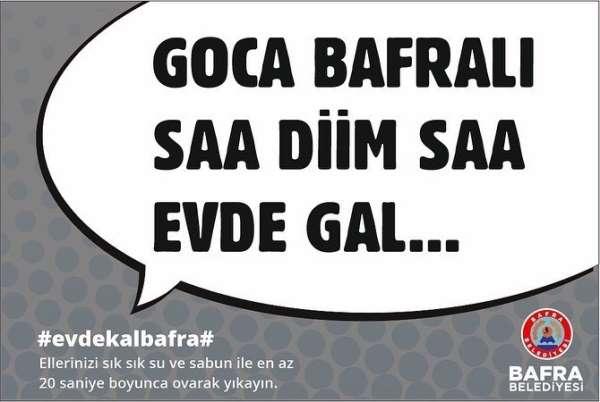 Bafra Belediyesinin pandemi ile mücadelesi devam ediyor