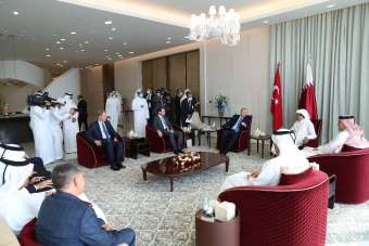 Bakan Albayrak: 'Katar ziyaretinde siyasi ve ekonomik ilişkilerin geliştirilmesi
