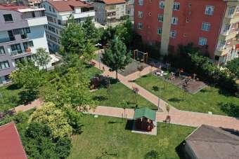 Çayırova Belediyesi Şehitlik Parkını yeniledi