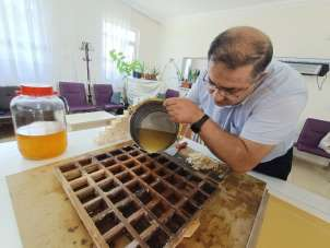 Kayısı çekirdeği üretime kazandırıldı, sabun ve kolonya oldu