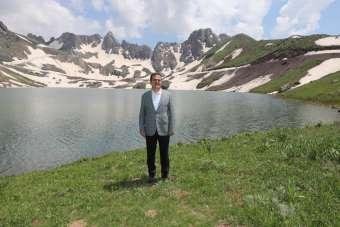 Terörden temizlenen Sat Gölleri turizme kazandırılıyor