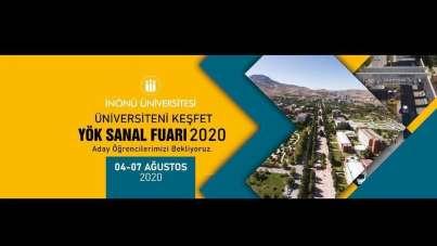 İnönü Üniversitesi YÖK Sanal Fuarı'nda olacak