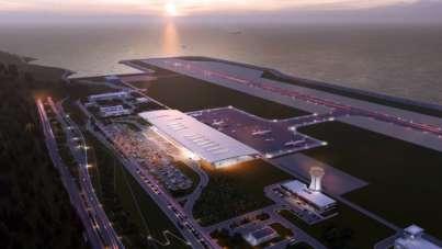 Vali Kemal Çeber: 'Rize-Artvin Havalimanı inşaatı yüzde 76 seviyelerine geldi'